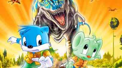 蓝猫淘气3000问之恐龙时代图片